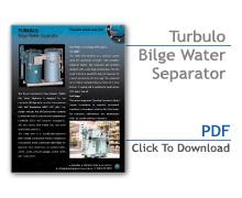 Turbulo Bilge Water Separator