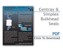 Centrax & Simplex Bulkhead Seals Flier