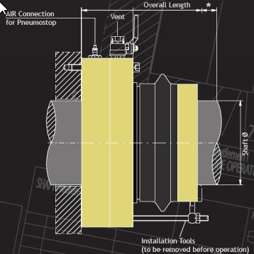 Simplan Shaft Seal schematic